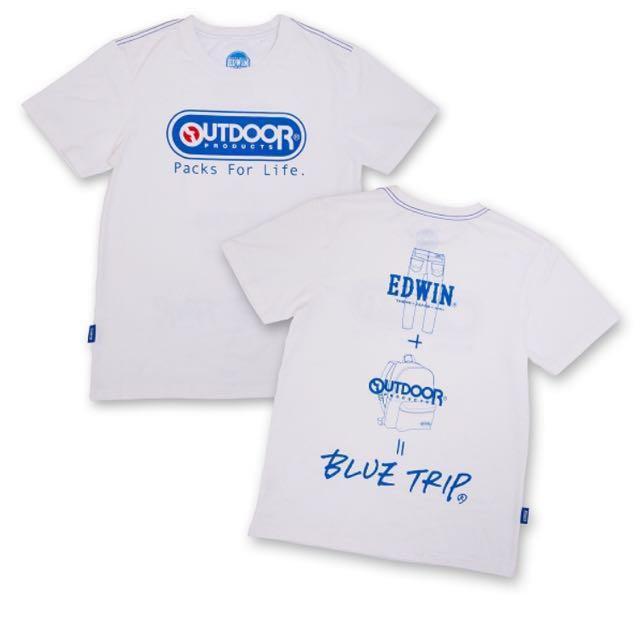 Outdoor x Edwin 聯名t-shirt