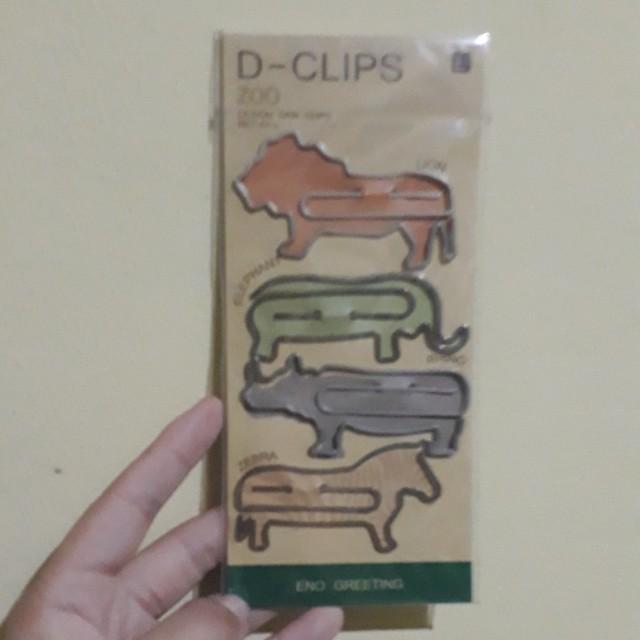 Paper Clip / Bookmark (Animal)