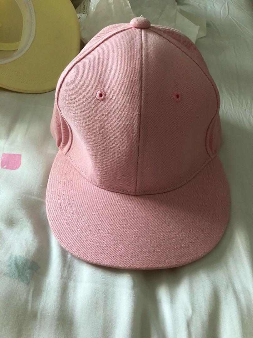 Pastel pink hat