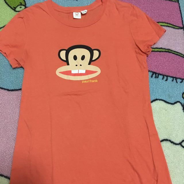 Paul frank 短t 基本款 t shirt