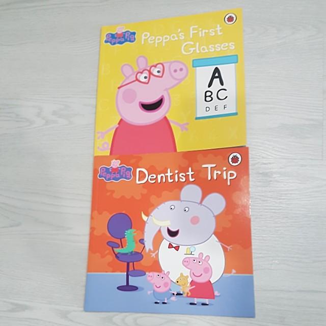 Peppa Pig Story Books Dentist Trip Peppa S First Glasses