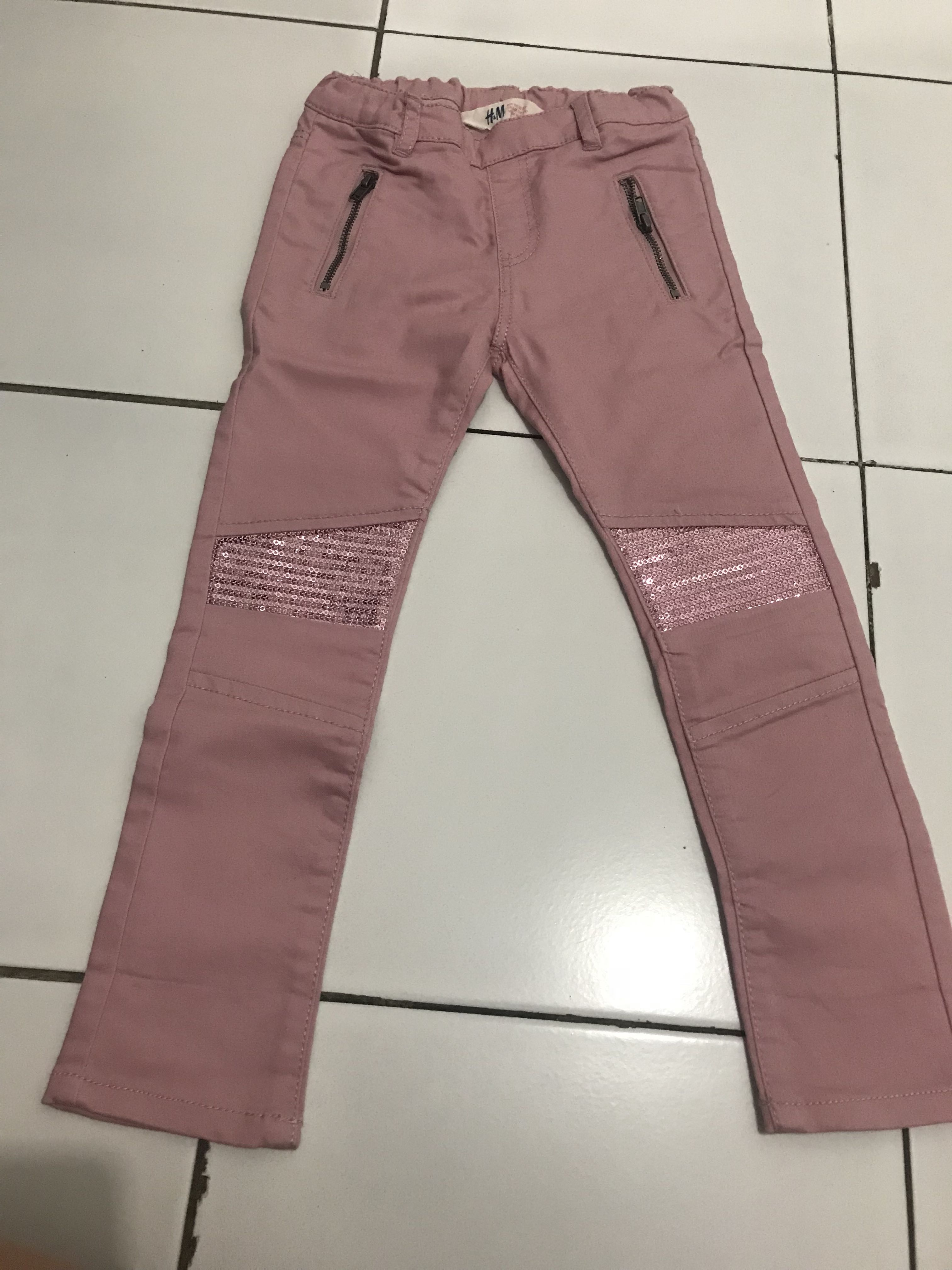 Pink pants HnM