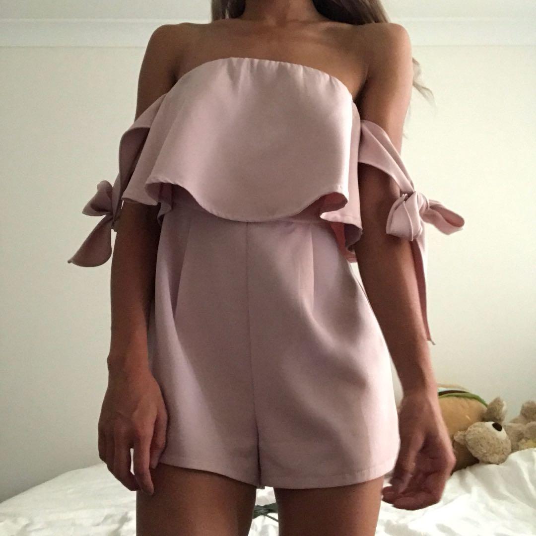 Pink Playsuit