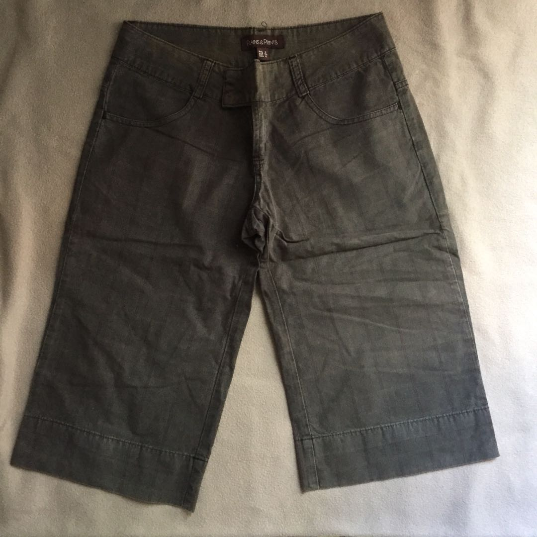 Plains and Prints knee-length shorts