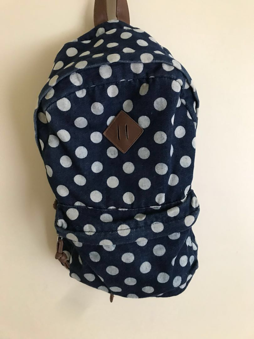 Polka Dot Back Pack