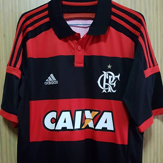 Authentic CR Flamengo 2014 15 Home Jersey (Brazil) 2a050390b