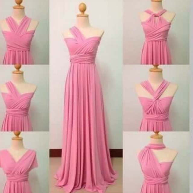 Preloved Infinity gowns, Women\'s Fashion, Clothes on Carousell