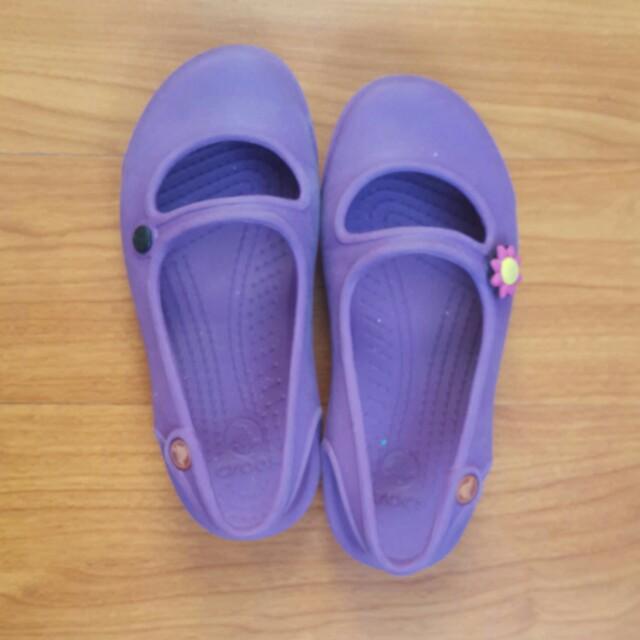 Purple Crocs (Size 11)