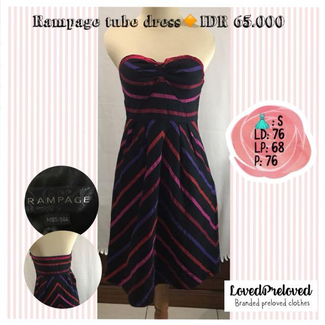 Rampage tube dress