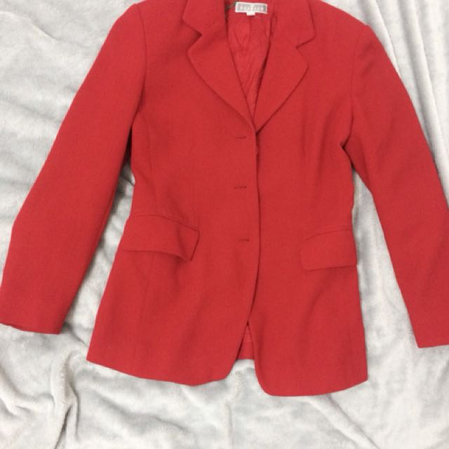 Red blazer/coat