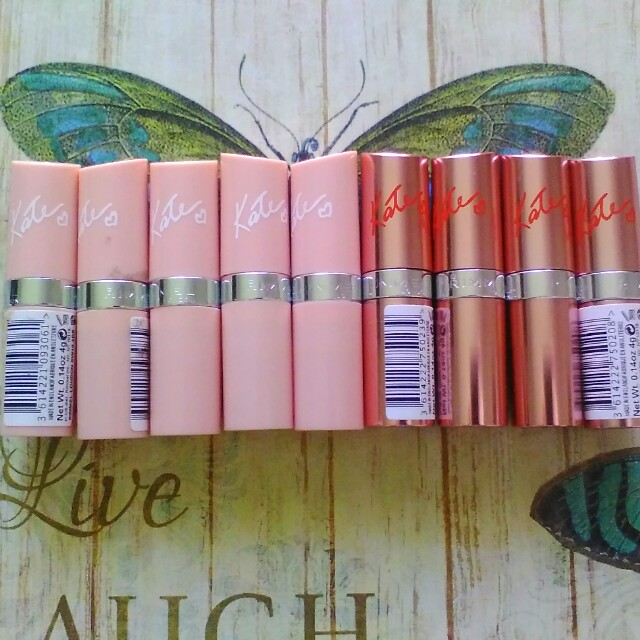 Rimmel lipsticks and avon lipstick