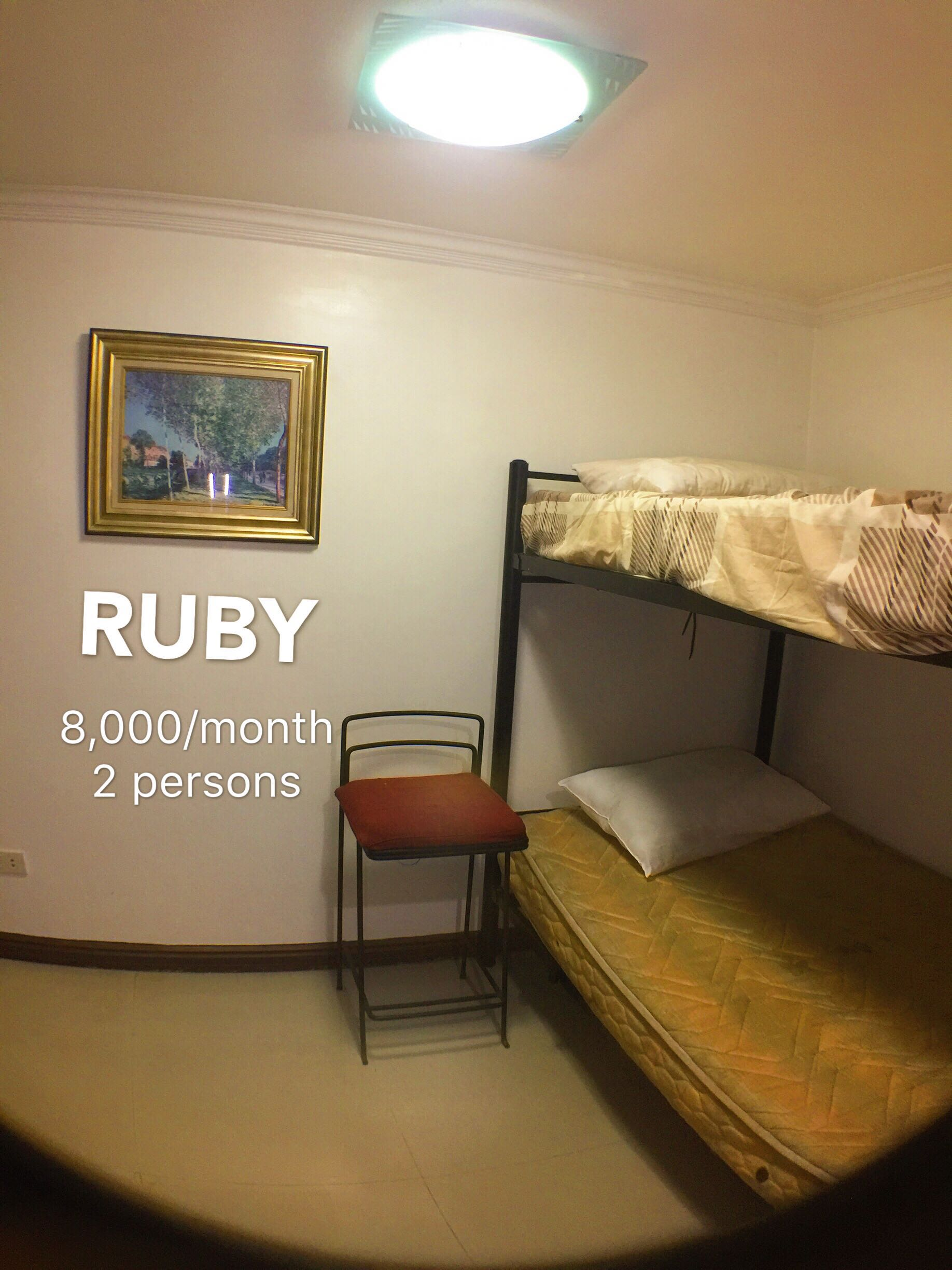 Room  For Rent  in Mabolo With Aircon and TV