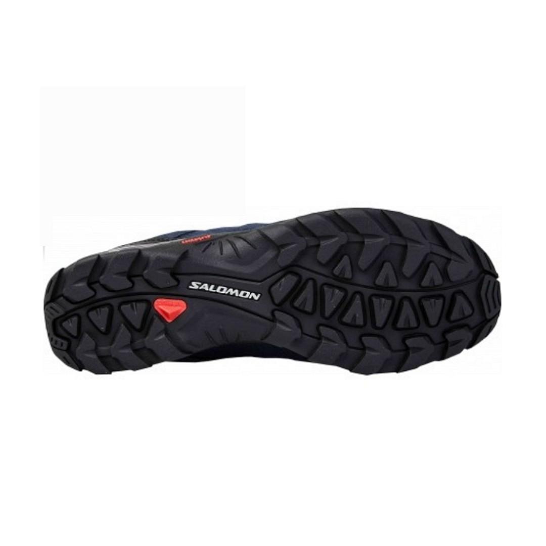 SALOMON ESCAMBIA GTX 男 低筒登山鞋- L38139600 石板藍x深藍x反光銀 出廠定價 3980