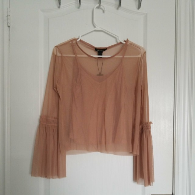 SIRENS brand new sheer top