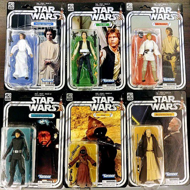 Star Wars 40th Anniversary 6inch Figures