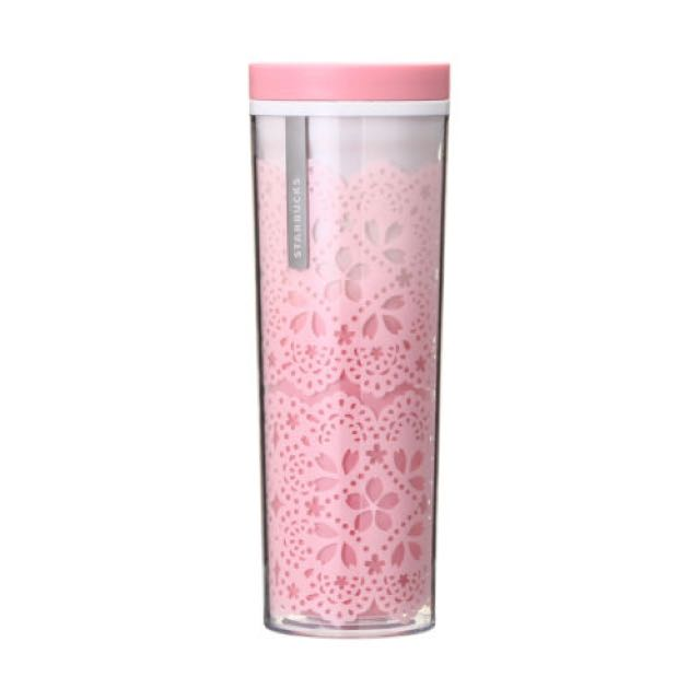 Starbucks Japan Sakura 2018 Lace Tumbler