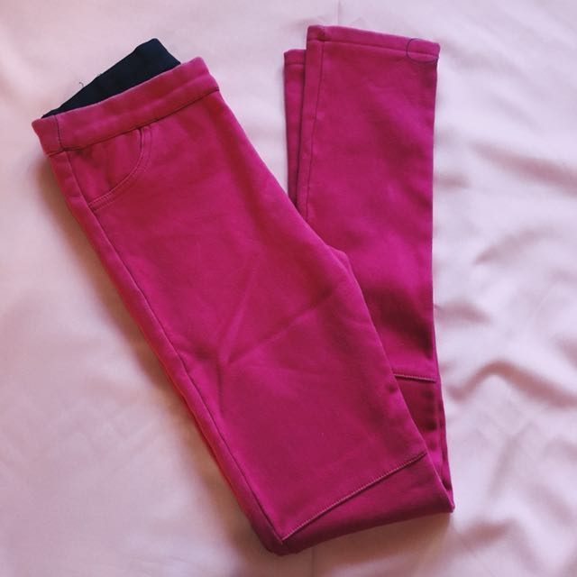 Stretchable Red Pants