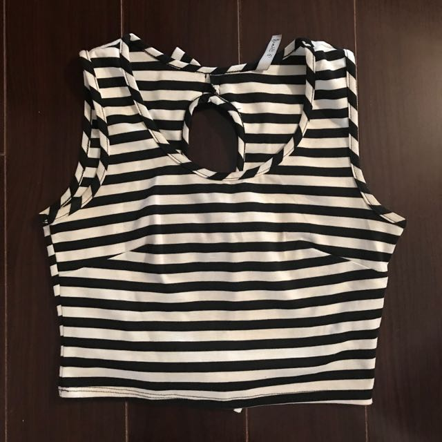 Stripped crop top from M!