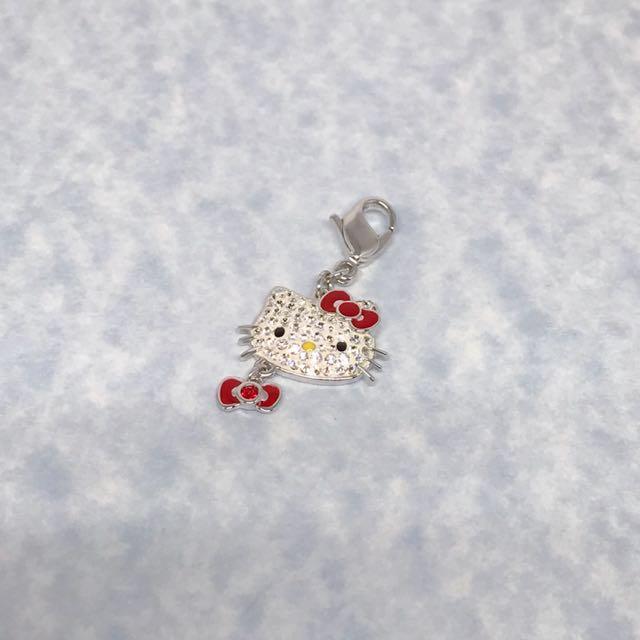 Swarovski Hello Kitty Charm, Women's Fashion, Jewelry & Organisers ...