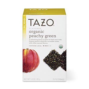 Tazo Peachy Green Tea