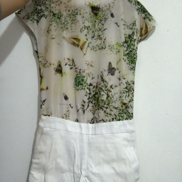 TED BAKER Ori Playsuit