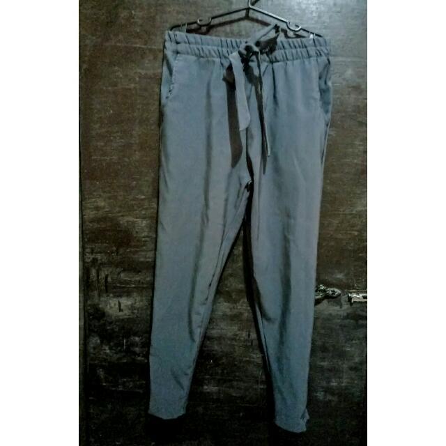 Trousers Pants Gray