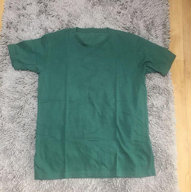 Uniqlo Shirt Green Small