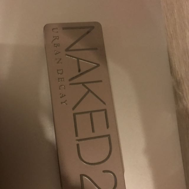 Urban Decay Naked2 eye color pallet