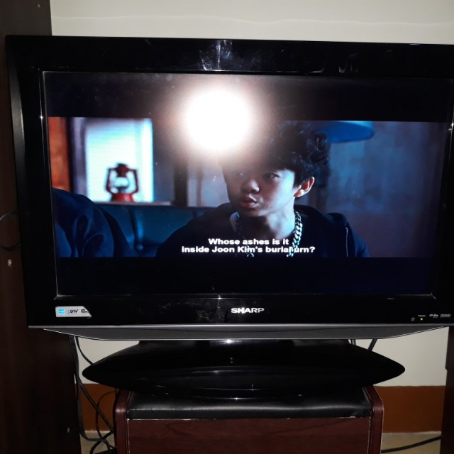 Used TV with built in DVD