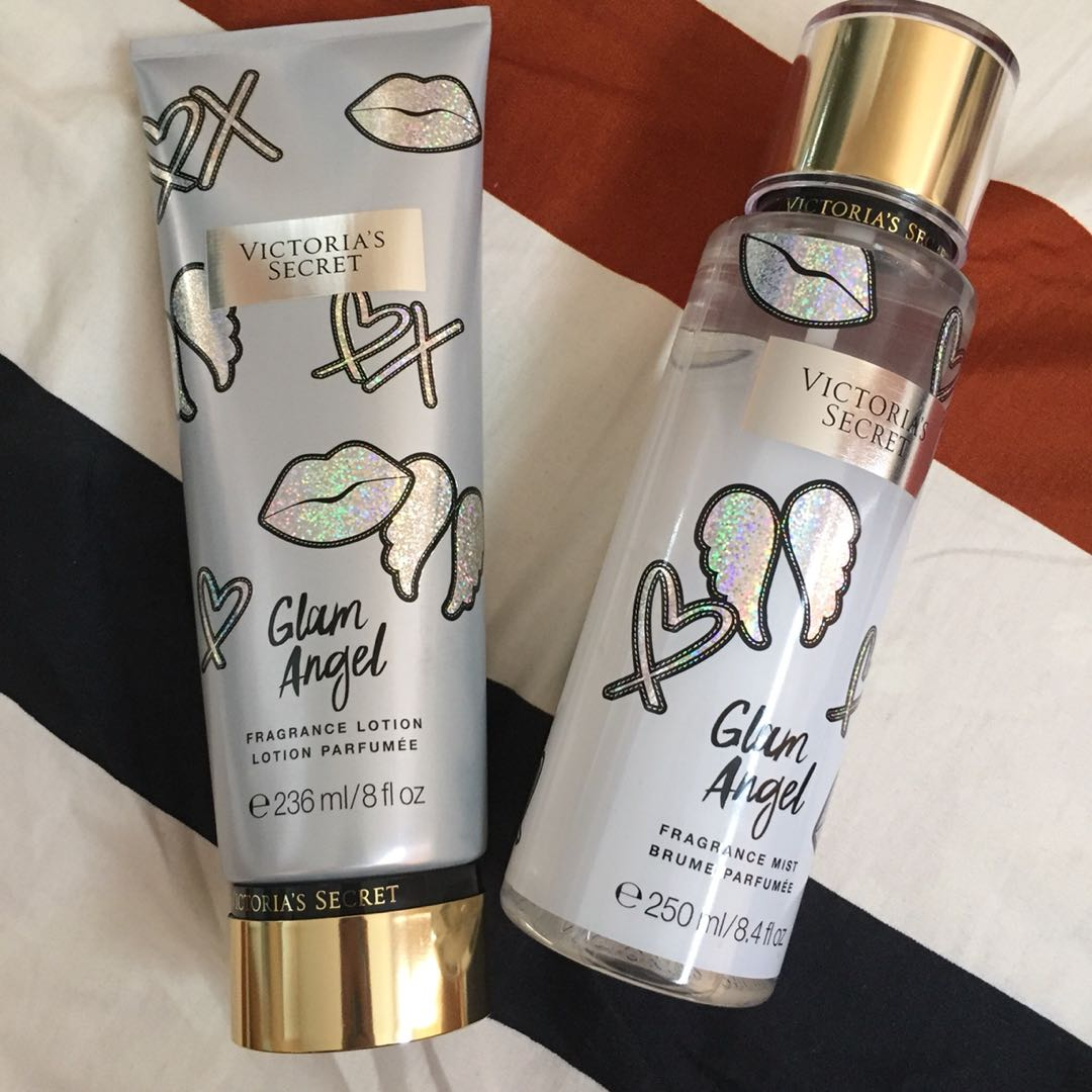 Victoria's Secret Glam Angel Perfume and Lotion