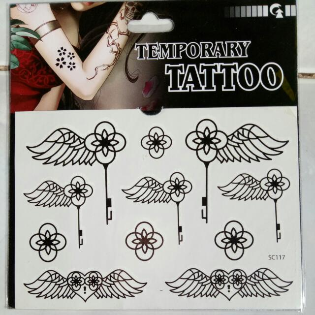 Waterproof Temporary Henna Tattoo