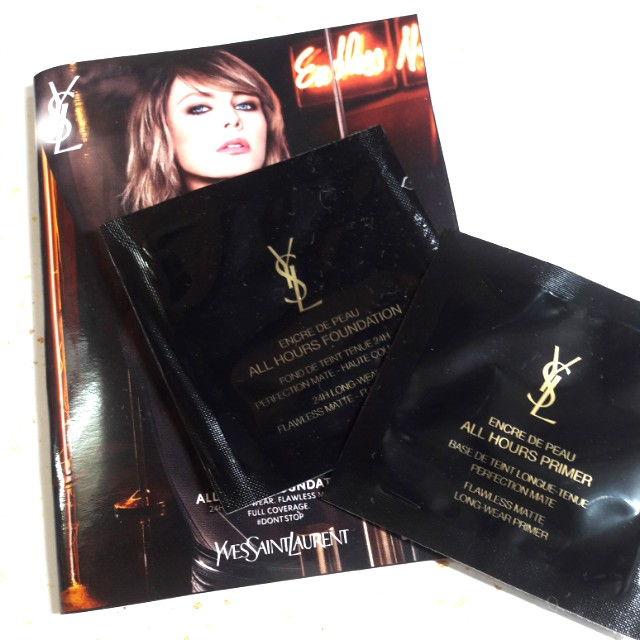 Yves Saint Laurent Encre de Peau Foundation + Primer