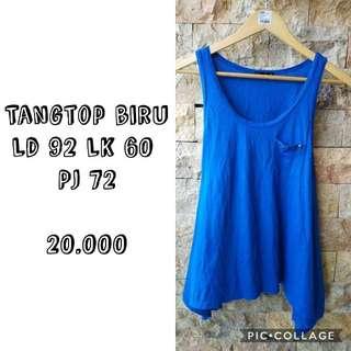 Tangtop biru