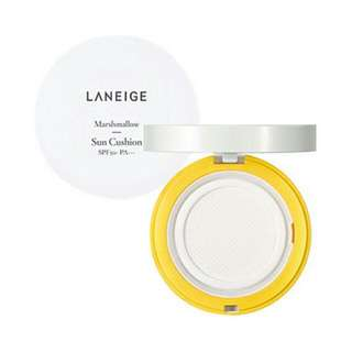 Laneige Marshmallow Sunblock Cushion