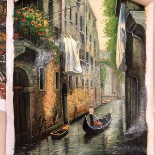 Oil Painting - Venezia (from Venice)