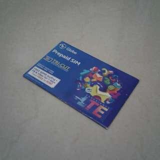 Globe Prepaid SIM (TRI-CUT)