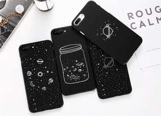 Casing Handphone - Universe Planet Matte Case