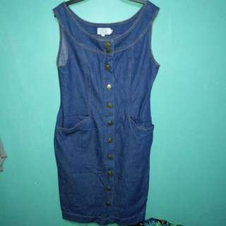 Imported Denim Dress