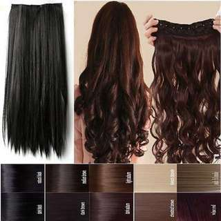Hair clip Wavy blow (LONG)