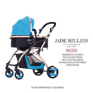 Billion 2in1 High Landscape Baby Stroller