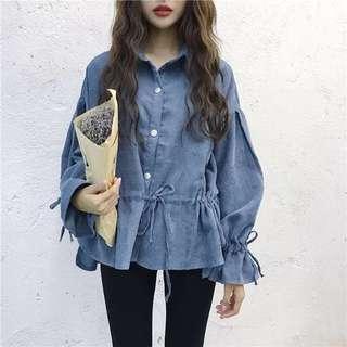 Blue Color Top