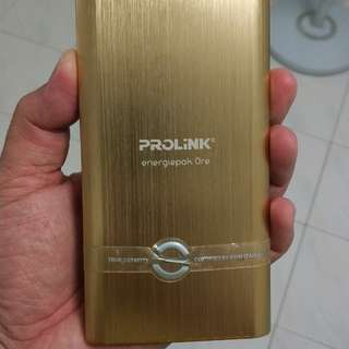 Prolink battery pack 2.1A out 10000mah