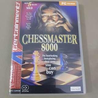 Chessmaster 8000 CDROM