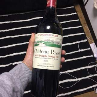 chateau pavie 2000紅酒