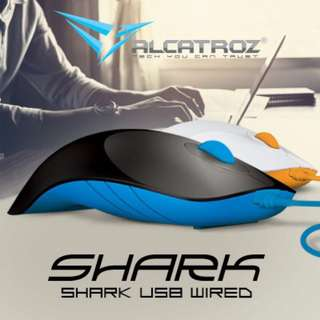 Alcatroz Shark Usb Wired Mouse