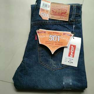 Levi Strauss 501 Import made in Usa