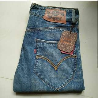 Levis Cooper Import made in China Blue Wash