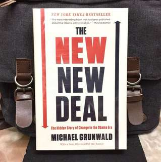 《New Book Condition + Reveals Obama Administration Progressive Aspects Of The $800 Billion Stimulus Bill》Michael Grunwald - THE NEW DEAL : The Hidden Story of Change in the Obama Era