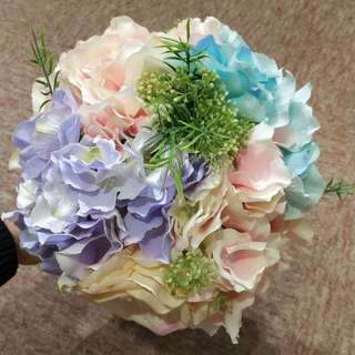 花球連手花襟花