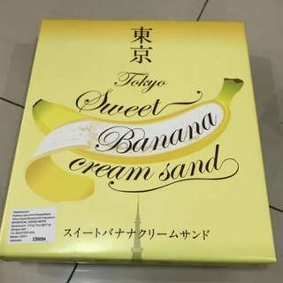 Tokyo sweet banana cream sand